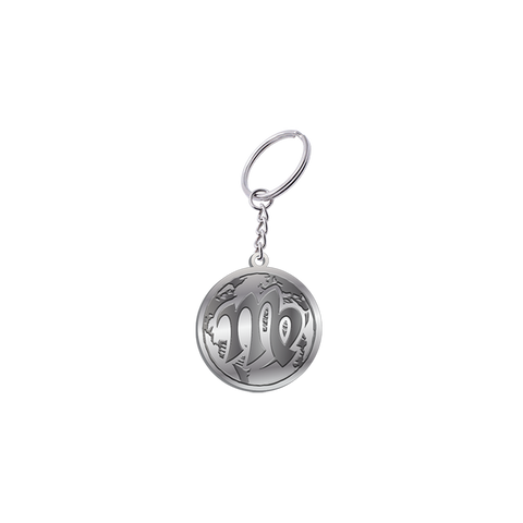 Virgo World Keychain