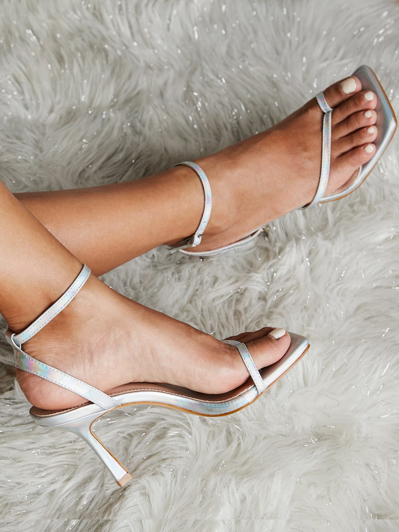 Classic Strap Heeled Sandals