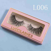 Load image into Gallery viewer, 4 pairs of 3D mink lashes L001 L002 L005 L006