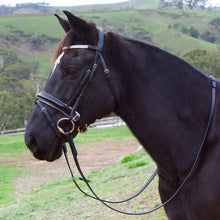 Load image into Gallery viewer, Premium Patent Leather Ultra-Bling Hanoverian Bridle