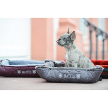 "Load image into Gallery viewer, E.A Mattes Dog Bed ""Dusty"""