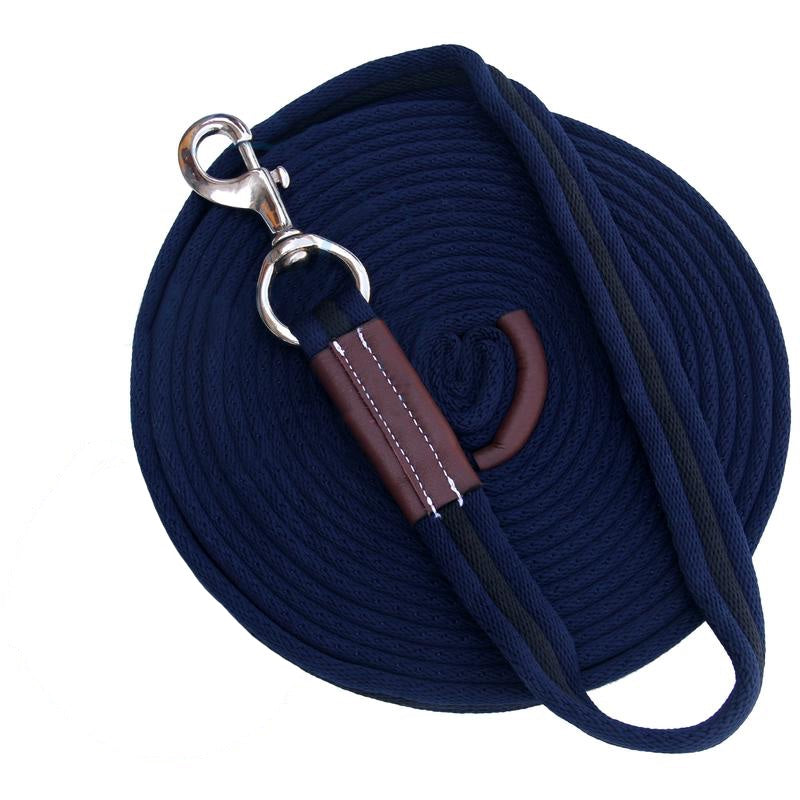 Dark Blue/Black Lunge Lead