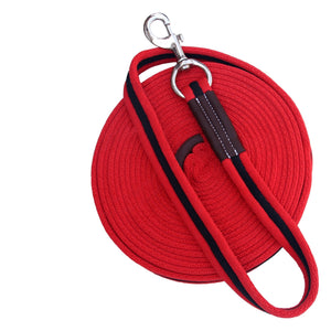Red/Black Lunge Lead