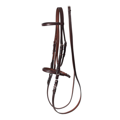 Havana Draft Leather Bridle