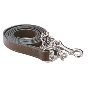 Leather Lead w/chain (6 feet)