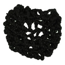 Crocheted Ribbon Hair Bun Net-Hamag-Tacklet