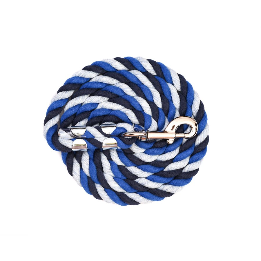 Navy/Royal Blue/Sky Blue Cotton Lead
