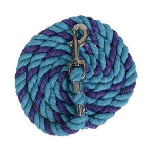 Turquoise/Purple Cotton Lead