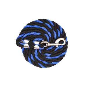 Black/Royal Blue Cotton Lead