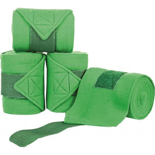 Bright Green Polar Fleece Bandages