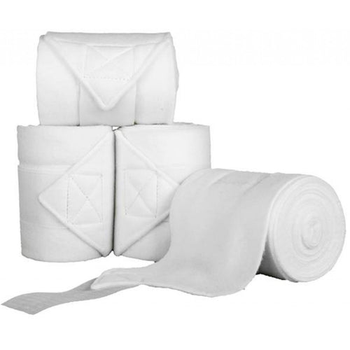 White Polar Fleece Bandages