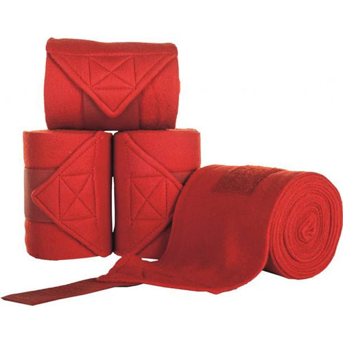 Red Polar Fleece Bandages