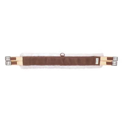 Brown Nylon Fleece Long Girth