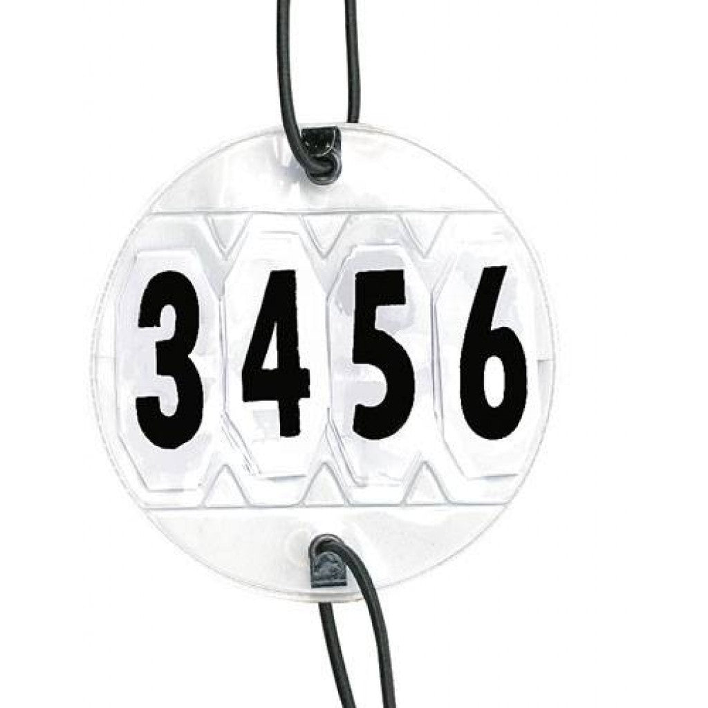 Competition numbers (pair) 4 digits