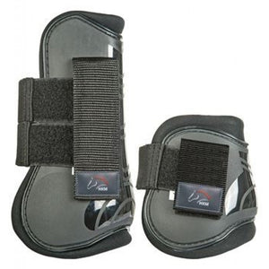 Black Tendon and Fetlock Boots - Cob/Full size
