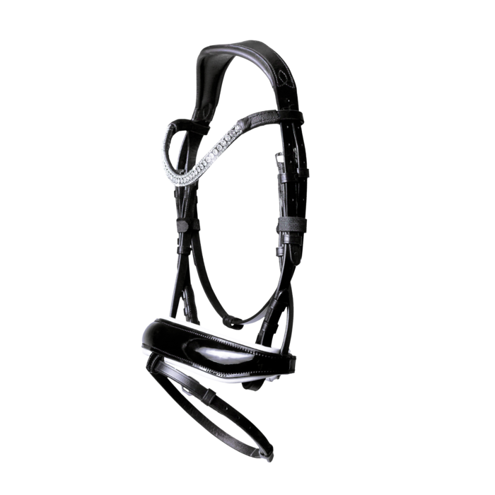 Adeline Italian Leather Bridle (Hanoverian)