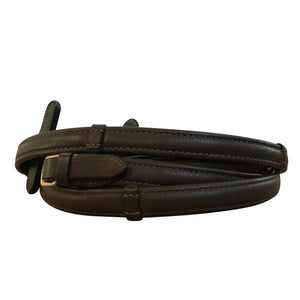 Padded Nappa (Rolled) Leather Reins