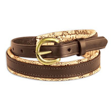 Load image into Gallery viewer, Padded Leather Belt