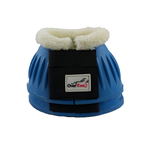 Baby Blue Rubber Bell Boots with Fleece - Factory Seconds