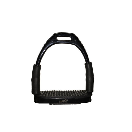 Black Flexi Stirrups