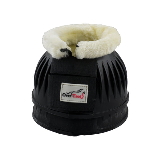Black Rubber Bell Boots with Fleece - Factory Seconds