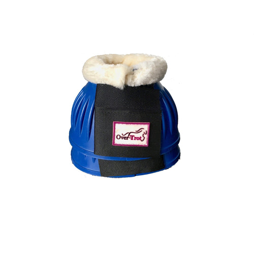 Blue Rubber Bell Boots with fleece