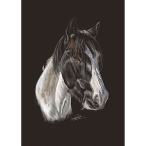 Digital Horse Portrait