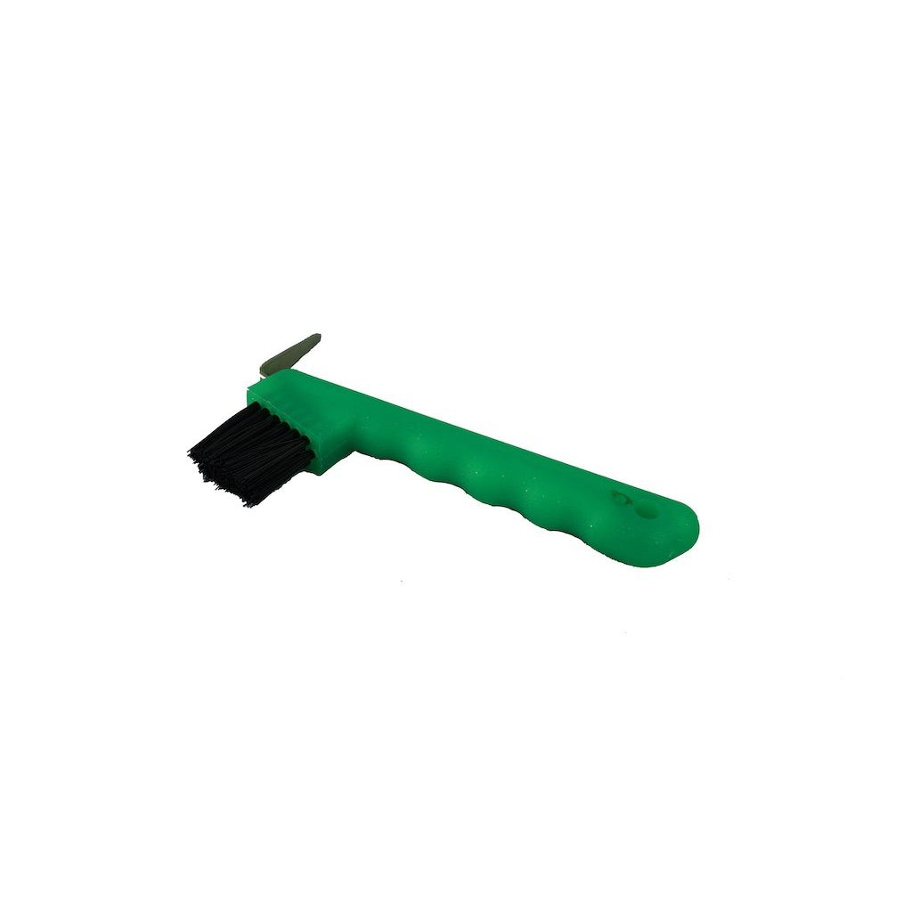 Green Glitter Hoof Pick with Brush
