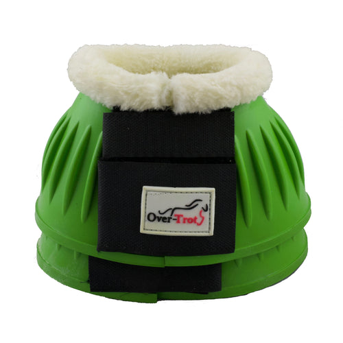 Green Rubber Bell Boots with Fleece - Factory Seconds