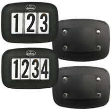 Load image into Gallery viewer, Leather Halter Number Holders (Pair)