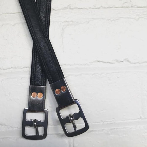 Stirrup Leathers - Nappa Leather