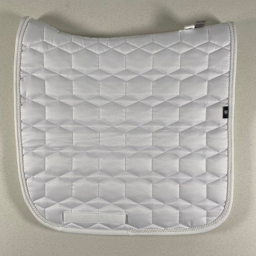 White Dressage Square - Large Size