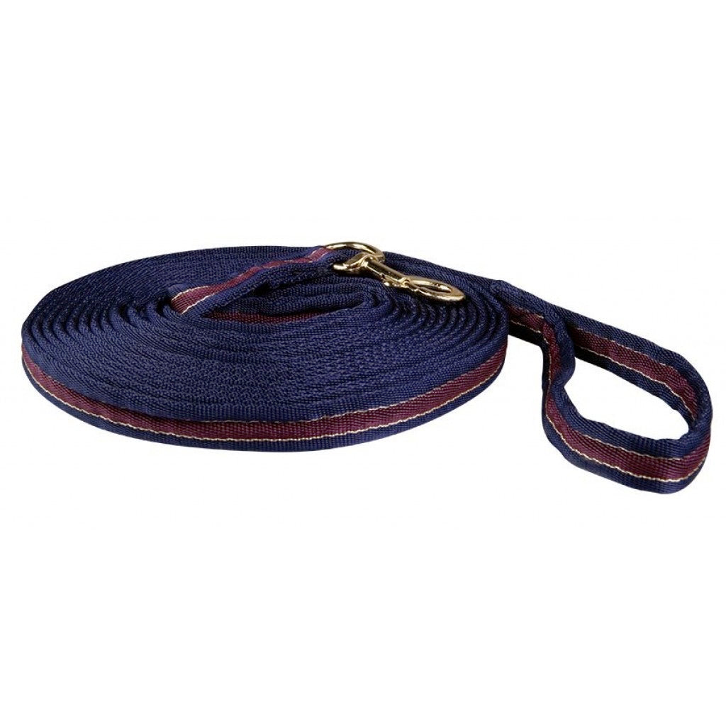 Morello (Navy/Berry) Lunge Line