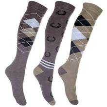 Load image into Gallery viewer, Cardiff Riding Socks - 3 Pack