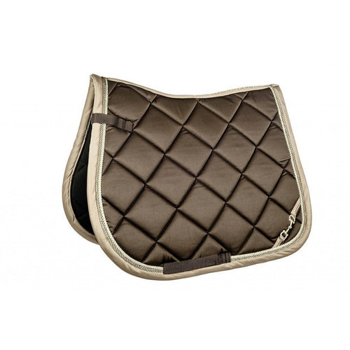 Dark Brown Golden Gate Bit Saddle Pad