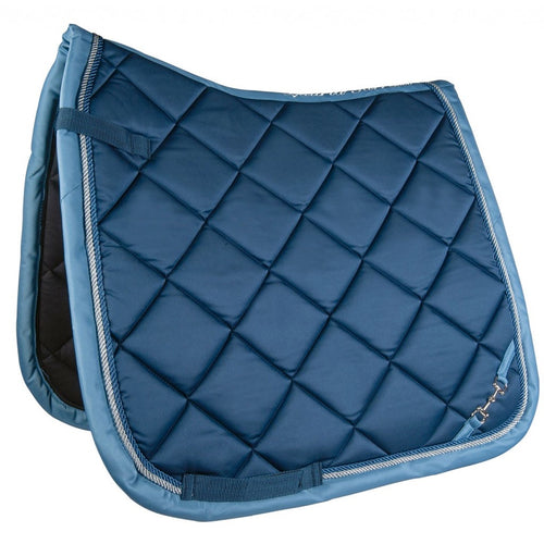 Blue Golden Gate Bit Saddle Pad