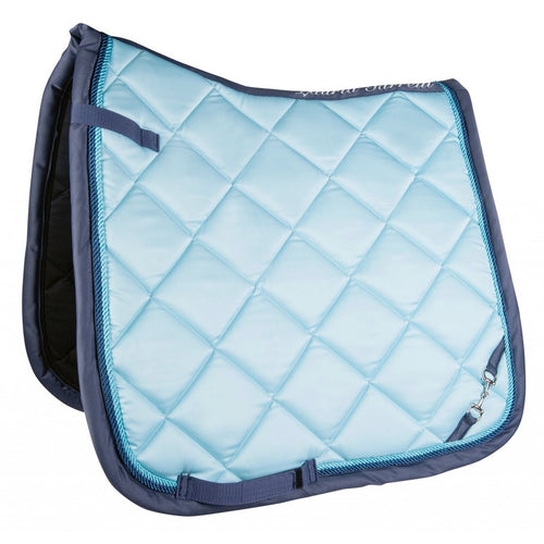 Baby Blue Golden Gate Bit Saddle Pad