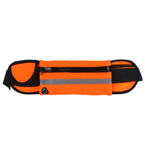 Orange Sports Belt Bag