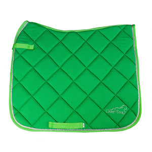 Over-Trot Lime Green Performance Saddle Pad - Dressage-Over-Trot-Tacklet