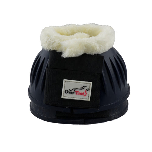Navy Rubber Bell Boots with Fleece - Factory Seconds