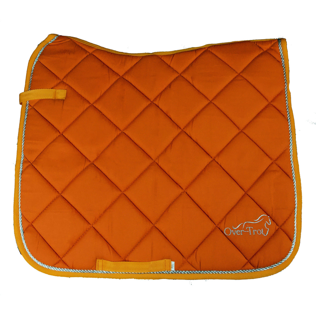 Over-Trot Orange Performance Saddle Pad - Dressage-Over-Trot-Tacklet