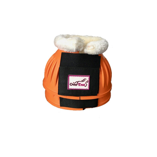 Orange Rubber Bell Boots with fleece (Stock on order)