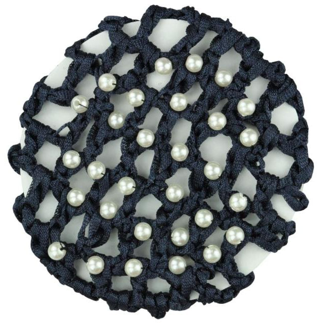 Pearl Encrusted Hair Net-Hamag-Tacklet