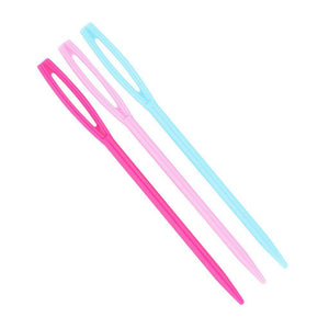 NTR Plastic Plaiting Needles-Nags to Riches Equestrian-Tacklet
