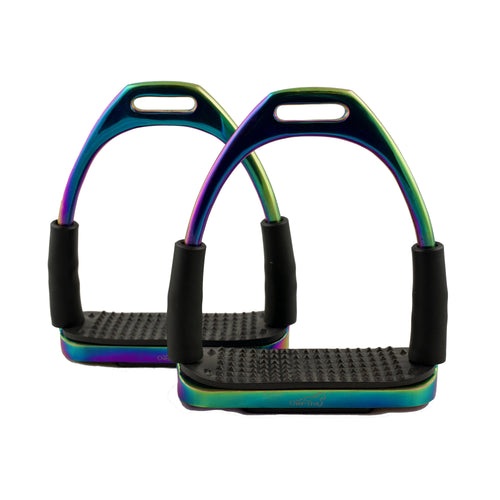Rainbow Flexi Stirrups