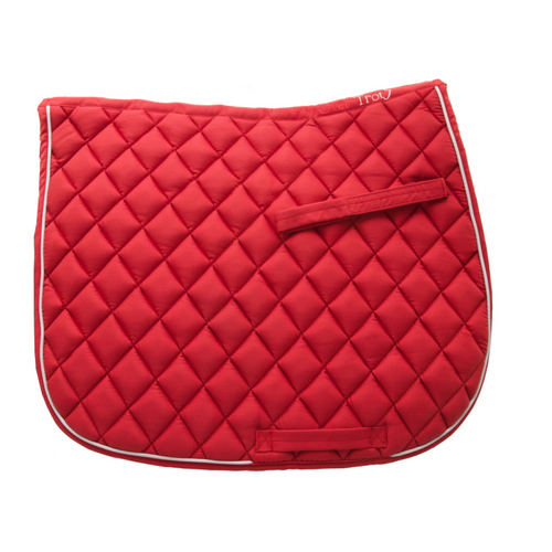 Red Saddle Pad - Shop soiled