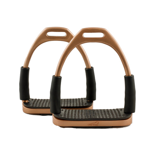 Rose Gold Flexi Stirrups