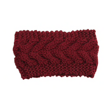 Load image into Gallery viewer, Women's knitted headband ear warmer