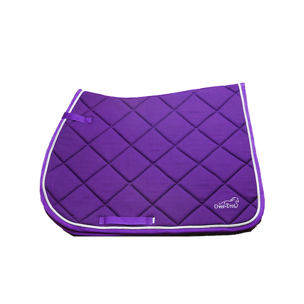 Over-Trot Purple Performance Saddle Pad - All Purpose
