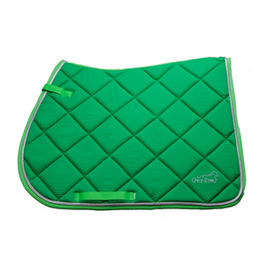 Over-Trot Lime Green Performance Saddle Pad - All Purpose-Over-Trot-Tacklet